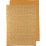 Meyco Wieglaken 2-Pack Cheetah/Uni Honey Gold 75 x 100 cm