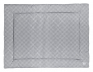 Meyco Boxkleed Double Diamond Grey 80 x 100 cm