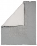 Koeka Boxkleed Stockholm Steel Grey/Silver Grey  75 x 95 cm