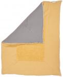 Koeka Boxkleed Stockholm Ochre/Steel Grey 75 x 95 cm