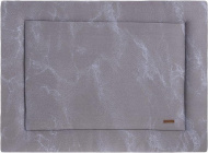 Baby's Only Boxkleed Marble Cool Grey/Lila  80 x 100 cm