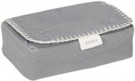 Koeka Hoes Voor Babydoekjes Riga Steel Grey