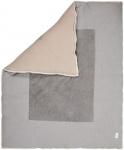 Koeka Boxkleed Cairo Steel Grey/Clay 75 x 95 cm