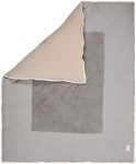 Koeka Boxkleed Cairo Steel Grey/Clay       80 x 100 cm