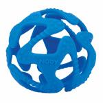 Nûby Silicone Bijtbal 3mnd+ Blauw
