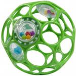 Oball Balle Hochet Vert 10 cm