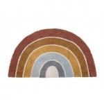 Little Dutch Vloerkleed Rainbow Shape Pure & Nature 80 x 130 cm