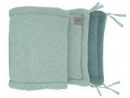 Jollein Box/Bedbumper River knit Ash Green