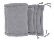 Jollein Box/Bedbumper Bliss knit Storm Grey