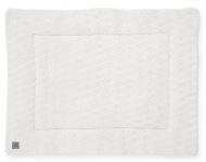 Jollein Boxkleed River Knit Cream White 75 x 95 cm