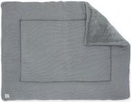 Jollein Boxkleed Basic Knit Stone Grey 80 x 100 cm