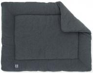 Jollein Boxkleed Jersey Melee Dark Grey 80 x 100 cm