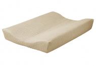 Cottonbaby Aankleedkussenhoes Wafel Zand