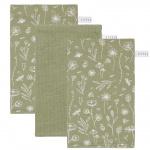 Little Dutch Washand Wild Flowers/Pure/Wild Flowers Olive 3-Pack