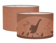 Little Dutch Hanglamp Silhouette Little Goose Rust 20 x 30 cm
