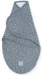 Jollein Wrapper Spickle Grey 0-3 mnd
