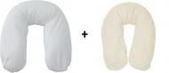 Form Fix Voedingskussen + Hoes Marshmallow