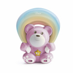 Chicco Projector Rainbow Bear Pink