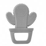Babyjem Bijtspeeltje Cactus Grey