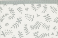 Briljant Wieglaken Botanical Organic Grijs  75 x 100 cm