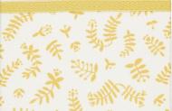 Briljant Wieglaken Botanical Organic Geel  75 x 100 cm
