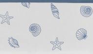 Meyco Ledikantlaken Shells Denim 100 x 150 cm