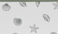 Meyco Ledikantlaken Shells Forest Green 100 x 150 cm