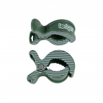Lodger Multidoek Clips Greenbay-Stripe 2-Pack