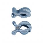 Lodger Multidoek Clips Ocean-Stripe 2-Pack