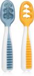 NumNum Pre-Spoons Original Blue + Orange