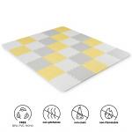 Kinderkraft Speelkleed Foam Puzzles Luno Yellow