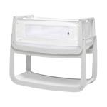 SnüzPod4® Bedside Crib Haze Grey