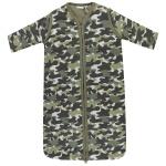 Babylook Slaapzak Winter Afritsbare Mouw Camouflage Dusty Olive 90cm