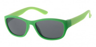 Dudes & Dudettes Zonnebril Matt Dark Green / Light Green