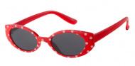 Dudes & Dudettes Zonnebril Red / White Dots