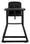 Puck Kinderstoel Plain Zwart
