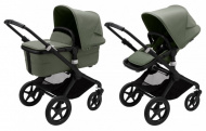 Bugaboo Fox 3 Complete Set Black / Forest Green