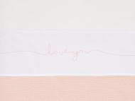 Jollein Wieglaken Love You Pale Pink 75 x 100 cm