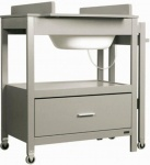 Badcommode Pericles Emma Grey Inclusief Lade