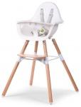 Childhome Evolu 2 Chair Naturel/Wit