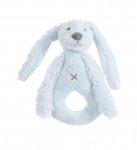 Happy Horse Rabbit Richie Rattle Blue 18 cm
