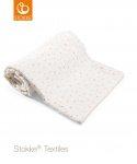 Stokke® Deken Muslin Organic Cotton Coral Bee  100 x 100 cm