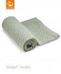 Stokke® Deken Green Merino Wool  80 x 80 cm