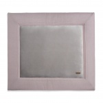 Baby's Only Boxkleed Sparkle Zilver-Roze Mêlee   75 x 95 cm