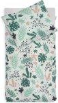 Jollein Dekbedovertrek Leaves  100 x 140 cm