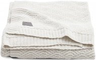 Jollein Wiegdeken River Knit Cream White  75 x 100 cm