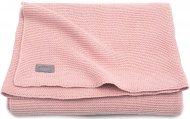 Jollein Wiegdeken Basic Knit Blush Pink  75 x 100 cm