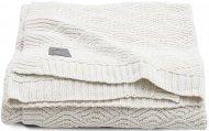 Jollein Ledikantdeken River Knit Cream White  100 x 150 cm