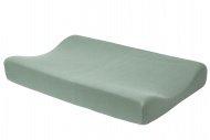 Meyco Aankleedkussenhoes Basic Jersey Stone Green