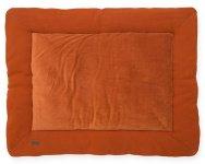 Jollein Boxkleed Brick Velvet Rust 80 x 100 cm